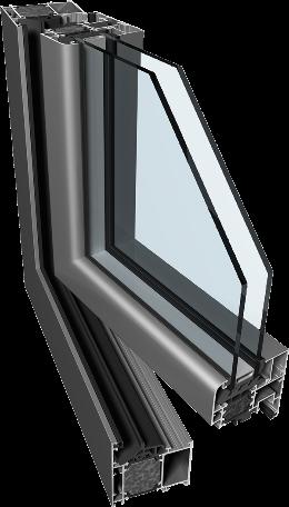 aluminium okna drzwi