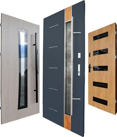 drzwi stalowe zewnętrzne